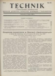 Technik, 1930, R. 3, nr 14