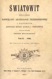 Światowit, 1900, t. 2
