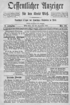 Oeffentlicher Anzeiger für den Kreis Pleß, 1891, Jg. 39, Nro. 103