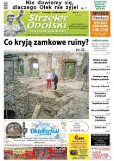 Strzelec Opolski : twój tygodnik regionalny : Strzelce Opolskie, Izbicko, Jemielnica, Kolonowskie, Leśnica, Ujazd, Zawadzkie, Toszek 2015, nr 39 (841).