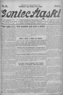Goniec Śląski, 1926, R. 6, nr 38