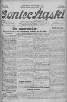 Goniec Śląski, 1926, R. 6, nr 70