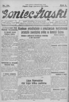 Goniec Śląski, 1926, R. 6, nr 154