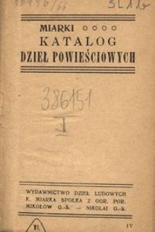 Miarki katalog dzieł powieściowych, 2