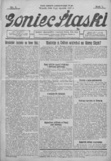 Goniec Śląski, 1927, R. 7, nr 7