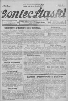 Goniec Śląski, 1927, R. 7, nr 20