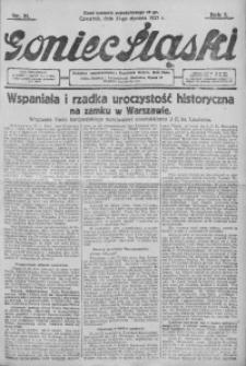 Goniec Śląski, 1927, R. 7, nr 21