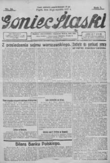 Goniec Śląski, 1927, R. 7, nr 22