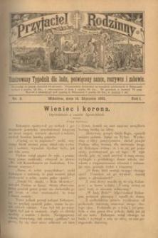 Przyjaciel Rodzinny, 1895, R. 1, nr 3