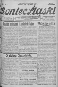Goniec Śląski, 1927, R. 7, nr 71