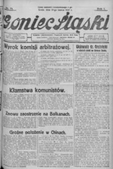Goniec Śląski, 1927, R. 7, nr 73