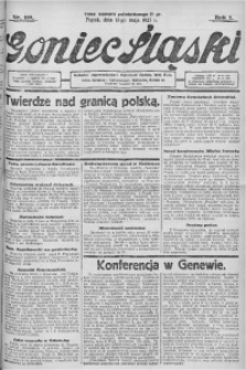Goniec Śląski, 1927, R. 7, nr 109
