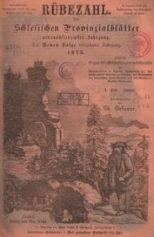 Rübezahl, 1875, Jg. 79/N. F. Jg. 14, H. 1