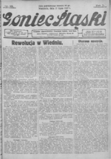 Goniec Śląski, 1927, R. 7, nr 161