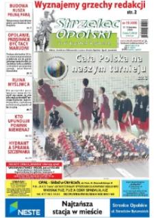 Strzelec Opolski : twój tygodnik regionalny : Izbicko, Jemielnica, Kolonowskie, Leśnica, Strzelce Opolskie, Ujazd, Zawadzkie 2008, nr 15 (459).
