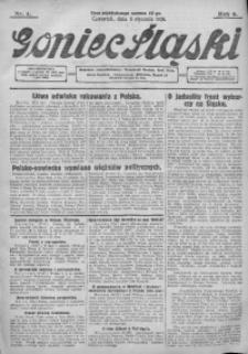 Goniec Śląski, 1928, R. 8, nr 4