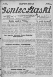 Goniec Śląski, 1928, R. 8, nr 72