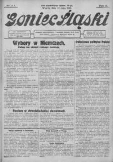 Goniec Śląski, 1928, R. 8, nr 117