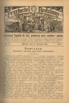 Przyjaciel Rodzinny, 1895, R. 1, nr 15