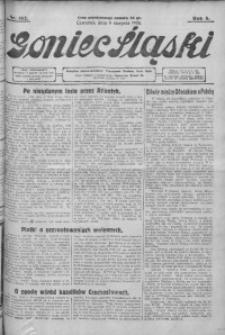 Goniec Śląski, 1928, R. 8, nr 182
