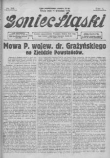 Goniec Śląski, 1928, R. 8, nr 217
