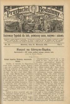 Przyjaciel Rodzinny, 1895, R. 1, nr 38