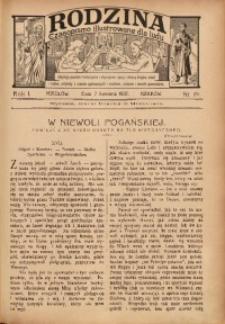 Rodzina, 1907, R. 1, Nr. 19