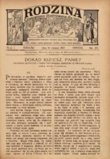 Rodzina, 1907, R. 1, Nr. 29