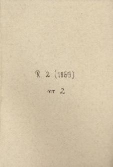 Towarzystwo Bożego Grobu, 1869, R.29, nr 2