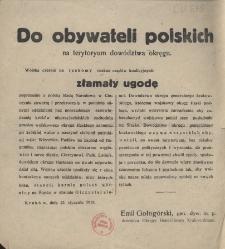Do obywateli polskich na terytoryum dowództwa okręgu