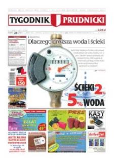 Tygodnik Prudnicki : prywatna gazeta lokalna gmin : Prudnik, Biała, Głogówek, Korfantów, Lubrza, Strzeleczki, Walce. R. 21, nr 23 (1067) [1065].