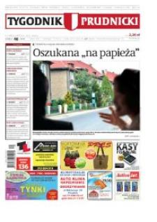 Tygodnik Prudnicki : prywatna gazeta lokalna gmin : Prudnik, Biała, Głogówek, Korfantów, Lubrza, Strzeleczki, Walce. R. 21, nr 40 (1084) [1082].