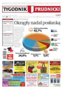 Tygodnik Prudnicki : prywatna gazeta lokalna gmin : Prudnik, Biała, Głogówek, Korfantów, Lubrza, Strzeleczki, Walce. R. 21, nr 41 (1085) [1083].