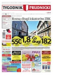 Tygodnik Prudnicki : prywatna gazeta lokalna gmin : Prudnik, Biała, Głogówek, Korfantów, Lubrza, Strzeleczki, Walce. R. 21, nr 42 (1086) [1084].
