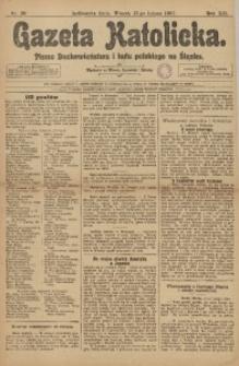 Gazeta Katolicka, 1907, R. 12, Nr. 20