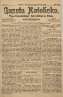 Gazeta Katolicka, 1907, R. 12, Nr. 49
