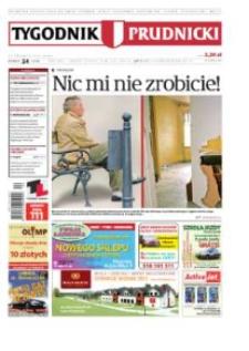 Tygodnik Prudnicki : prywatna gazeta lokalna gmin : Prudnik, Biała, Głogówek, Korfantów, Lubrza, Strzeleczki, Walce. R. 22, nr 24 (1120).