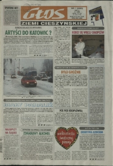 Głos Ziemi Cieszyńskiej, 2006, Nry 1-26