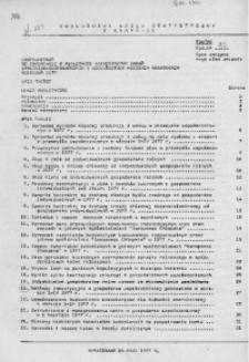 Uzupełnienie do Informacji o realizacji ważniejszych zadań społeczno - gospodarczych w województwie miejskim krakowskim, kwiecień 1977 r.