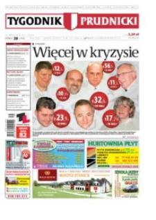 Tygodnik Prudnicki : prywatna gazeta lokalna gmin : Prudnik, Biała, Głogówek, Korfantów, Lubrza, Strzeleczki, Walce. R. 22, nr 39 (1135).