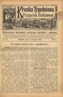 Kronika Tygodniowa do Przyjaciela Rodzinnego, 1895, R. 1, nr 31