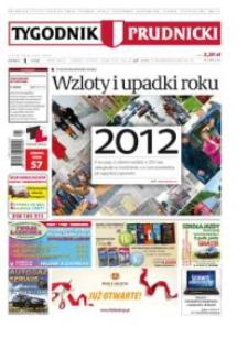Tygodnik Prudnicki : prywatna gazeta lokalna gmin : Prudnik, Biała, Głogówek, Korfantów, Lubrza, Strzeleczki, Walce. R. 23, nr 1 (1149).