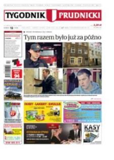 Tygodnik Prudnicki : prywatna gazeta lokalna gmin : Prudnik, Biała, Głogówek, Korfantów, Lubrza, Strzeleczki, Walce. R. 23, nr 12 (1160).