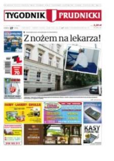 Tygodnik Prudnicki : prywatna gazeta lokalna gmin : Prudnik, Biała, Głogówek, Korfantów, Lubrza, Strzeleczki, Walce. R. 23, nr 27 (1175).