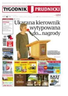 Tygodnik Prudnicki : prywatna gazeta lokalna gmin : Prudnik, Biała, Głogówek, Korfantów, Lubrza, Strzeleczki, Walce. R. 23, nr 40 (1188).