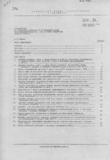 Uzupełnienie do Informacji o realizacji ważniejszych zadań społeczno - gospodarczych w woj. miejskim krakowskim, październik 1978 r.