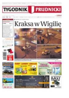 Tygodnik Prudnicki : prywatna gazeta lokalna gmin : Prudnik, Biała, Głogówek, Korfantów, Lubrza, Strzeleczki, Walce. R. 24, nr 1 (1201).