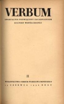 Verbum, 1936, z. 2