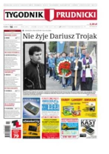 Tygodnik Prudnicki : prywatna gazeta lokalna gmin : Prudnik, Biała, Głogówek, Korfantów, Lubrza, Strzeleczki, Walce. R. 24, nr 14 (1214).