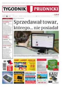 Tygodnik Prudnicki : prywatna gazeta lokalna gmin : Prudnik, Biała, Głogówek, Korfantów, Lubrza, Strzeleczki, Walce. R. 24, nr 18 (1218).